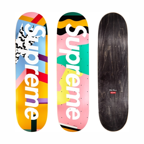 Skateboard Alessandro Mendini pour Supreme